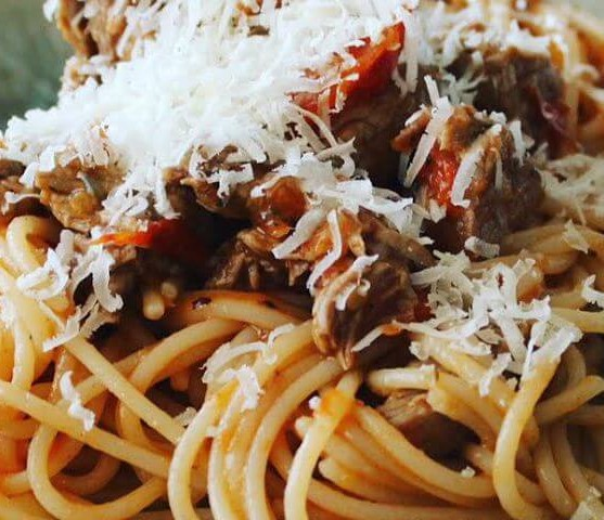 Spaghetti al ragù