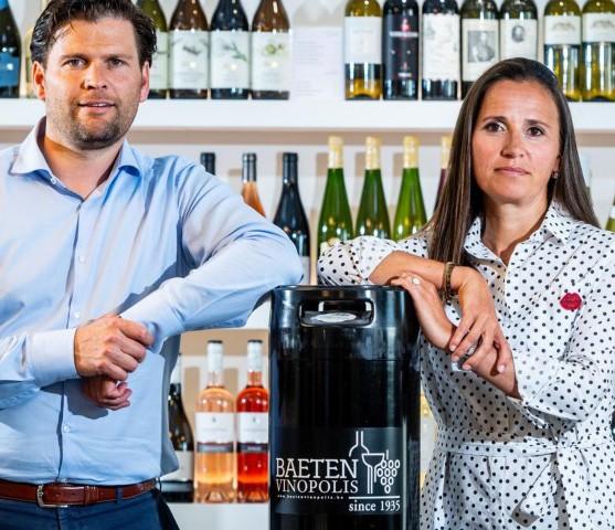 Limburgse wijnhandelaars succesvol ondanks moordende concurrentie