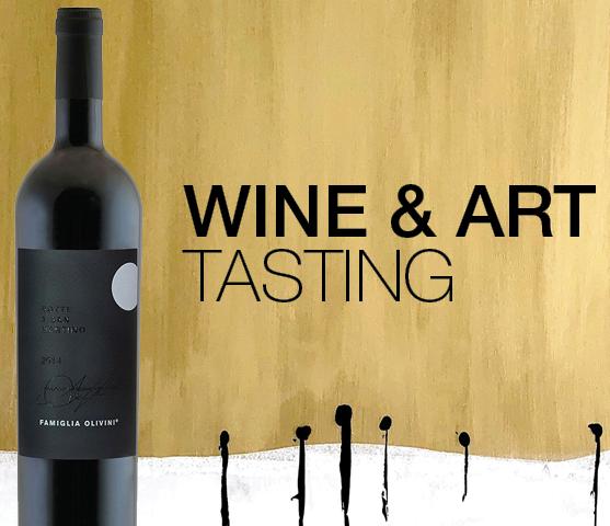 WINE & ART TASTING 5 oktober